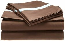 3-pc Twin Hotel Collections 300 Thread Count Sheet Set Sateen Finish