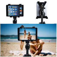 New iPad 2 3 4 Air Holder + 1/4 inch Video Camera Tripod Monopod Adapter Mount