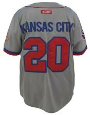 KANSAS CITY MONARCHS NEGRO LEAGUE BASEBALL JERSEY GRAY LIMITED EDITION Jersey