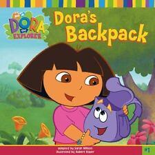 NEW - Dora's Backpack (DORA THE EXPLORER) by Willson, Sarah