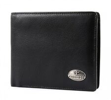 CHIEMSEE Bourse Leather Wallet Black