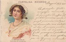 1251) LA BRIANZOLA, COSTUME DI LOMBARDIA.