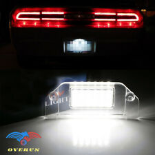 18 SMD LED Light Rear License Plate Bulbs Lamp Pair Fits 2006-2014 Dodge Charger