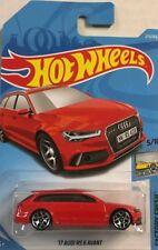 Hot Wheels Neuheit 2018 2017er Audi RS 6 Avant NEU OVP rot  matchbox siku schuco