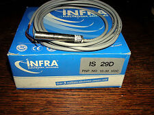 INFRA ELECTRONICS PROXIMITY SENSOR MODEL IS29D NEW