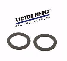 For Volvo C70 S90 142 SET OF 2 Engine Oil Filler Cap Gasket VICTOR REINZ 940096