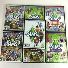 The Sims 3 Base Game and 6 Expansion Packs PC (2009-2012) - 7 Total Discs