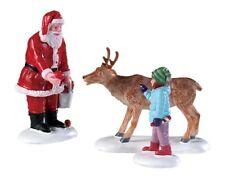 Weihnachtsdorf Weihnachtsdeko Lemax Santa`s Mailbox Modellbau 956