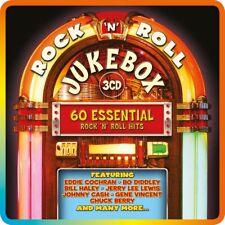 ROCK'N ROLL JUKEBOX (LIMITED METALBOX; CHUCK BERRY, JOHNNY CASH, ...)  3 CD NEU