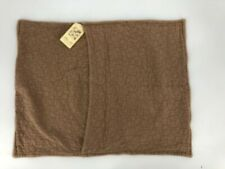 Bella Notte Davenport Standard Pillow Sham Fawn Brown NWT Quilted 25""