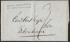 Uk Gb 1833 Norwich To Pakenham Folded Letter Dated Nov 29 1833 From Appelton Par