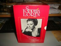 SOPHIA LOREN COLLECTION AMICA cofanetto 5 DVD come nuovi