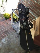 """Lamar Ultra Snowboard 63"""" long and 10.5 wide with bindings"""