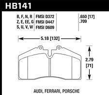 Disc Brake Pad Set-Turbo Front,Rear Hawk Perf HB141Z.650