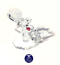 "[NEW] ""Dove Lovers"" Austrian Crystal Figurine"