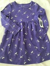 Nwt! Girl Size 3T Unicorn Dress Old Navy