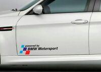 Pegatina decal sticker bandera BMW powered by BMW motorsport car race 55 cm