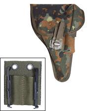 Mil-Tec BW Pistolentasche P1(P38) Flecktarn mit Adapter Waffentasche Tasche