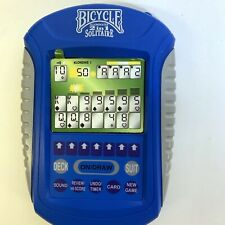 Bicycle Illuminated 2 In 1 Solitaire Handheld Electronic Game Open Box