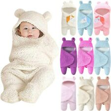 Baby Sleeping Bag Wrap Blanket Newborn Infant Boy Girl Swaddle Photography Prop