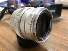 ZEISS Distagon T 35mm f/1.4 ZM Lens For Leica (Silver), Mint- with genuine hood