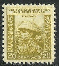 U.S. Possession Philippines stamp scott 390 - 20 cent issue of 1935 - mlh - #3