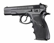 Hogue CZ-75 TZ-75 P-9 Rubber Wraparound With Finger Grooves Grip Black 75000