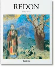 REDON ~ MICHAEL GIBSON ~ TASCHEN ~ PROFUSELY ILLUSTRATED  ~ BRAND NEW!!