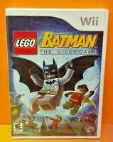 Lego Batman - Nintendo Wii Wii U Game Brand New X Y Factory Sealed