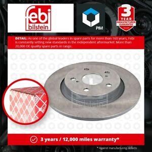 2x Brake Discs Pair Solid Rear 290mm 108412 Febi Set 4243105070 Quality New