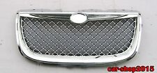 Front Grille for 1999-2004 Chrysler 300M Chrome Mesh Hood Grille