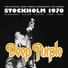 DEEP PURPLE - STOCKHOLM 1970 2 CD + DVD NEW