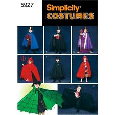 SIMPLICITY SEWING PATTERN Child's One-Piece Cape Costumes  5927