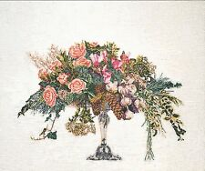 Thea Gouverneur 1085A Bouquet Winter- Aida Stickerei Kreuzstich-Zählmuster