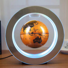 globalMagnetic Levitation Globe Round LED Floating Earth Maglev Light Suspension