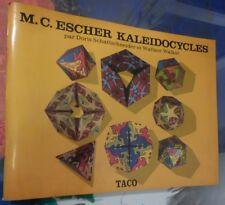 M;C ESCHER KALEIDOCYCLES Doris Schattschneider, Wallace Walker