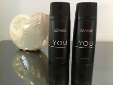 LYNX YOU DAILY FRAGRANCE TWIN PACK. NEW.