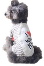 Ropa y calzado de 100% algodón XS para perros
