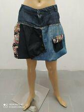 Gonna Desigual Donna Taglia Size 44 Skirt Woman Jupe Femme Pantalone Cotone 8880