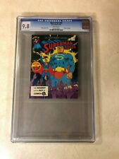 SUPERMAN #59 CGC 9.8 NM/MT top graded 1 OF 1 BEST of DC BLUE RIBBON DIGEST 1985