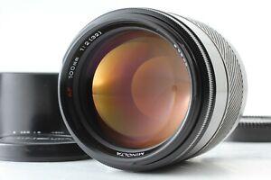 【MINT】 Minolta AF 100mm f2 Portrait Prime Lens for Sony A from JAPAN