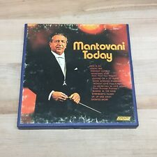 Mantovani Today 4 Track 7.5 IPS Reel Tape TESTED GOOD