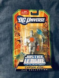 DC Universe Justice League Unlimited Fan Collection Action Figure Captain Atom