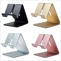 Aluminum Desk Stand Holder Desktop For Samsung S9 S8 Note 8 iPhone 6 7 8 Plus X