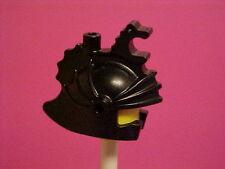 LEGO DRAGON KNIGHT HELMET black classic  minifig accessories