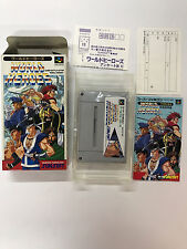 WORLD HEROES NTSC-J SUPER NINTENDO JAP SUPER FAMICOM