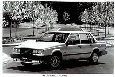 1984 Vintage Photo of the new model Volvo 740 Turbo 4-door automobile car