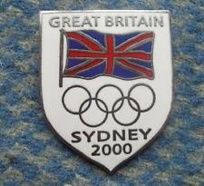 NOC GREAT BRITAIN  OLYMPIC SYDNEY 2000 ENAMEL PIN BADGE