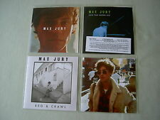 MAX JURY job lot of 4 promo CDs All I Want: The Sonic Factory Sessions