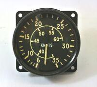 RAF Aircraft Airspeed Indicator Knots Gauge Mk 9M 6A / 6610